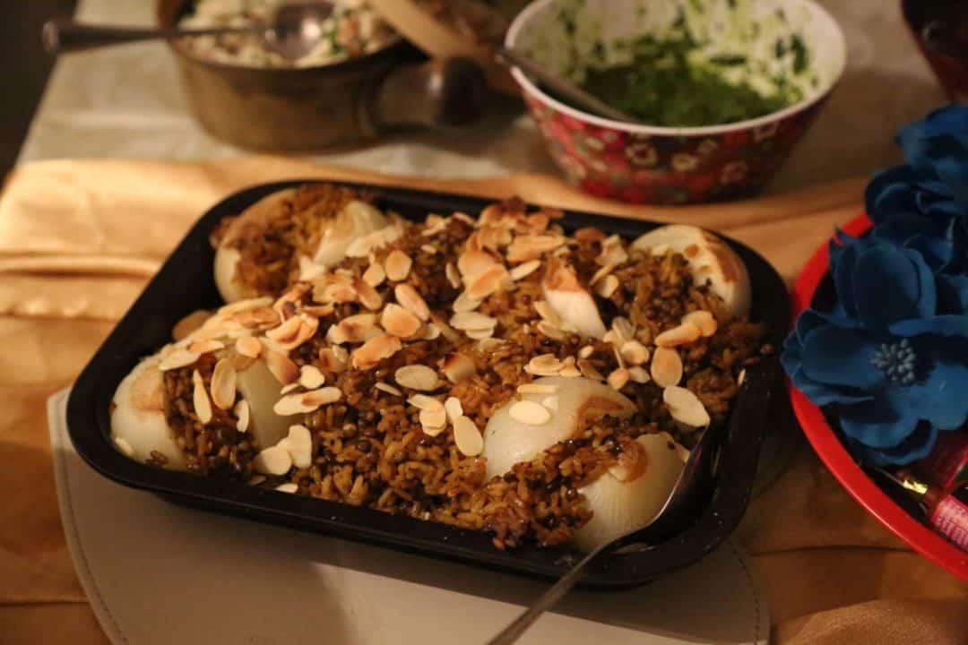 Veganuary: Middle Eastern comfort food – Onion Medjara recipe