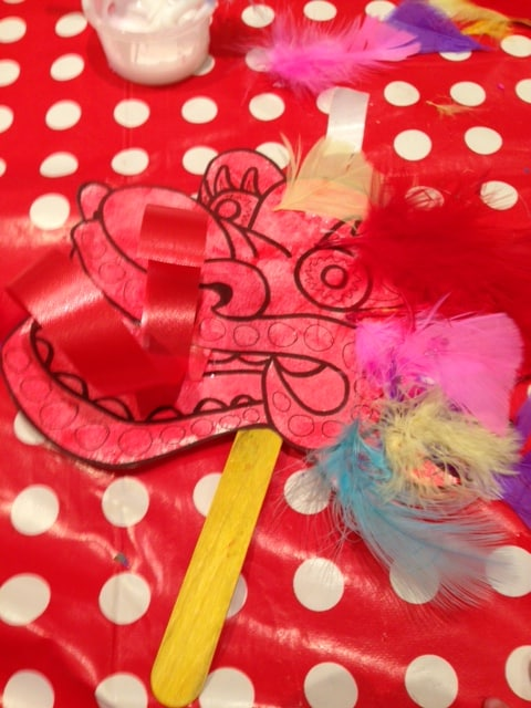 Creation Station: Chinese New Year craft activity (review)