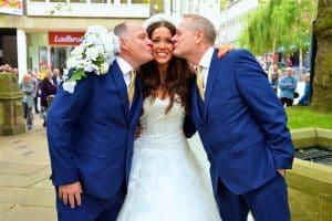 sophie mei lan hale gay dads wakefield cathedral mark scott steve slack wedding yorkshire