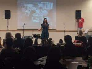 Sophie Mei lan feminist speaker national coal mining museum international women's day