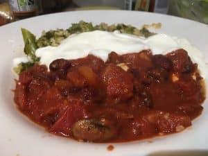 tinkersdash vegetable chilli