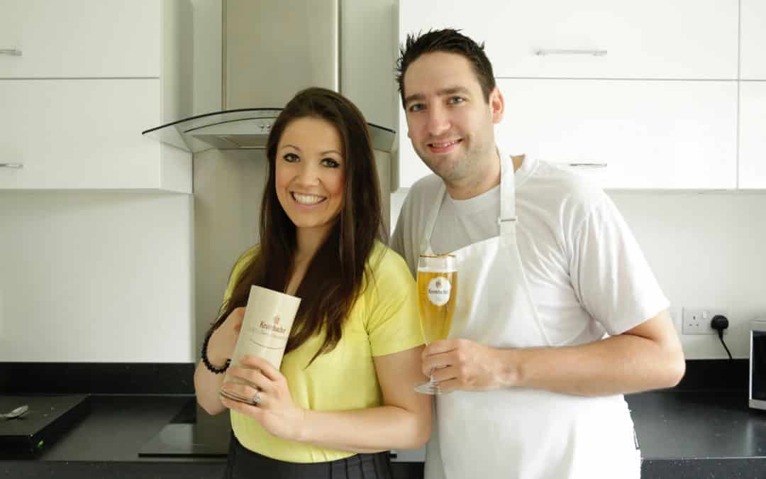 Four ingredient recipes with Krombacher + WIN A 24-CRATE OF BEER and pottery glass #Sp