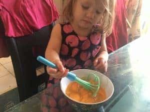 scrambled egg sunshine breakfast recipe mama mei healthy family food blog blogger eggs