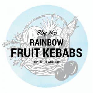 edinburgh with kids rainbow fruit kebabs