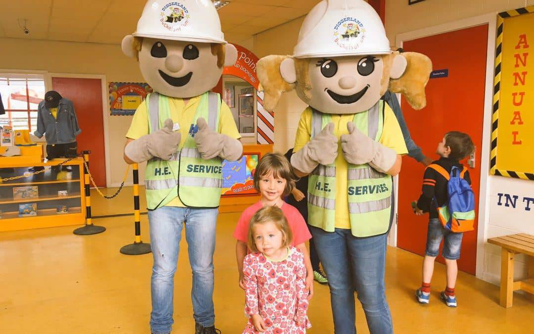 Diggerland: Win a family ticket to visit the theme park
