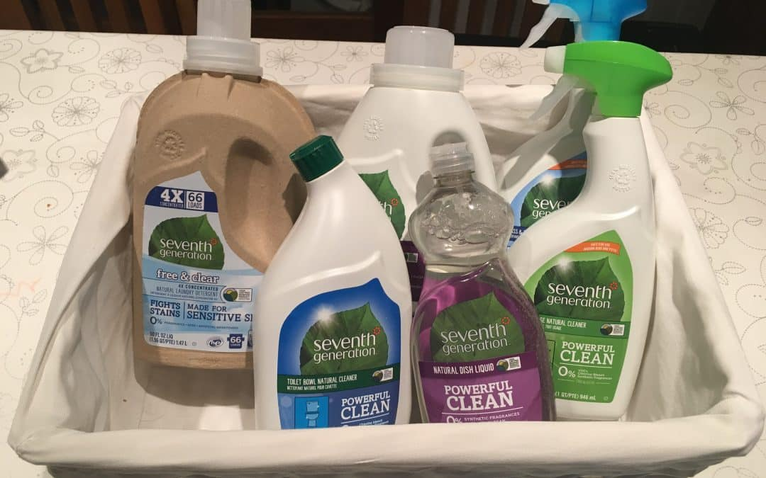 Win an eco-friendly cleaning hamper with Seventh Generation