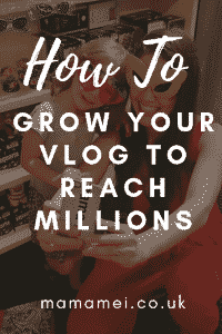 how to grow your vlog to reach millions