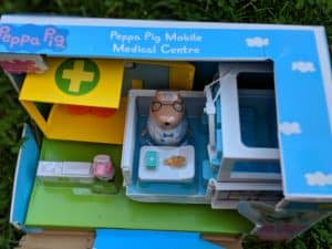 Peppa Pig The Mobile Medical Centre push along ambulance