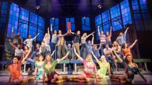 Kinky Boots at Leeds grand theatre Yorkshire