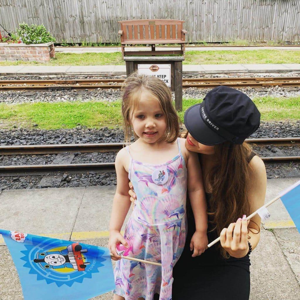 kirklees light railway single mum day out with kids on train